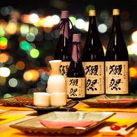 「有名地酒・希少地酒」多数入荷!3h飲み放題999円!