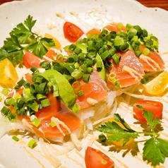 料理メニュー写真ALL¥500均一★サーモンとアボカドのカルパッチョ