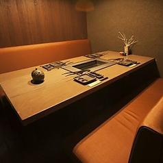 最大で6名様までお座りになれる個室は1部屋限定です。1部屋のみということで、すぐに埋まってしまいます。完全個室でご宴会をご希望のお客様は、お早めのご予約がおすすめです。店内の下見も可能ですので、お気軽にご連絡ください。