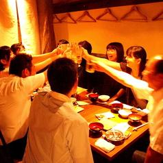 忘年会・新年会・歓送迎会・女子会など各種宴会にはテーブル席へご案内♪