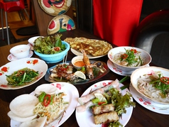 ベトナム料理 クアンコムイチイチ 谷9本店のコース写真
