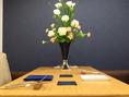 個室のテーブル席は2~4名様までご利用いただけます。