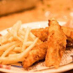 料理メニュー写真フィッシュ & チップス