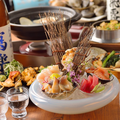 貝と酒【贔屓】