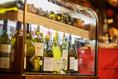 お料理にあうお酒を多数ご用意★ボトルワインも常備しております!!