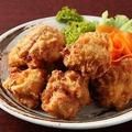 料理メニュー写真大山鶏のジャンボー唐揚げ