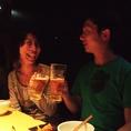 記念日、デートはカップルシートで乾杯!