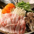 料理メニュー写真越後もち豚のしゃぶしゃぶ(2人前~)