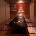 川崎砂子店では最大32名様迄ご宴会をお楽しみ頂けます★団体様でのご宴会には幹事様もご安心のコースがおすすめ☆新鮮な海の幸をふんだんに使用した宴会コースは飲み放題付きで3500円~ととってもリーズナブル♪他とは違う新鮮な海鮮物の数々を是非ご宴会でご堪能ください★
