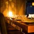 お座席の指定も承りますのでお気軽にご相談下さい。誕生日や記念日なでのサプライズも大好評!プライベートな個室空間で気兼ねなくお料理を楽しめます。※系列店舗との併設店舗となります