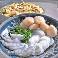 料理メニュー写真(3)魚介やお肉などをトッピング追加して、オリジナルアレンジ!!