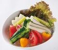 料理メニュー写真湘南野菜の盛合せ