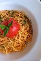 料理メニュー写真まんまるトマトのパスタ