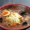 料理メニュー写真信州味噌ラーメン(赤味噌)680円