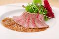 料理メニュー写真飛騨牛の軽いローストビーフ