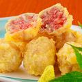 料理メニュー写真ネギトロの天ぷら