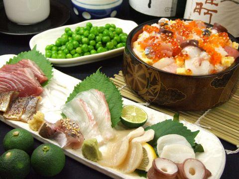 新鮮で美味しい海鮮系のお店