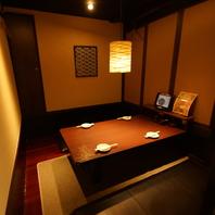 カウンター・半個室・個室完備☆