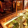 店内奥の掘りごたつ個室は料亭さながらの雰囲気でお食事を楽しめます。