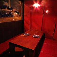 絶対的個室。大人の空間。カジュアル接待。合コン。密会におすすめです。