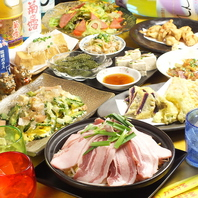 人気の食べ放題コース&充実の飲み放題付コース☆