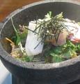 料理メニュー写真石焼海鮮チャーハン