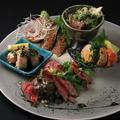 料理メニュー写真【超得】肉魚5種盛り