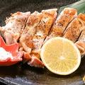料理メニュー写真薩摩錦地鶏モモ焼き