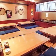 最大宴会50名様★ゆったり宴会部屋ございます。