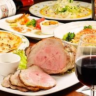 美味しいお肉をお腹いっぱい『フルハウスコース3000円』