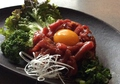 料理メニュー写真馬肉のユッケ