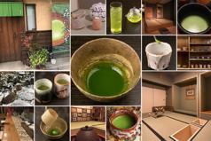 森の茶室の写真