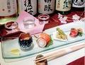 料理メニュー写真日本酒飲み比べセット