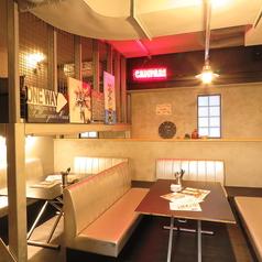 10名以上で個室使いOK!!人気のソファ宴会席♪宴会利用のお客様や大人数で利用のお客様にぴったりです。ロフト席と合わせて20名様まで対応可!