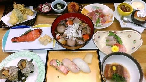 割烹・天ぷら 土筆