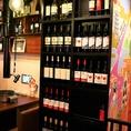 【2階テーブル席】お酒好き、ワイン好きの皆様に朗報です!がぶ飲みこぼれワイン 赤・白はなんと驚きの290円(税抜)「なみなみスパークリング」が390円(税抜)と限りなくリーズナブル。