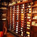 沢山のワイン達がお出迎え致します!