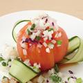 料理メニュー写真丸ごとトマトのサラダ