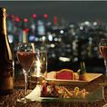 【贅沢プロポーズプラン】乾杯酒・フルコース・フラワーリングピロー・個室・チャペル貸切!