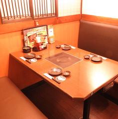 4名様~可能なIH付きテーブルです♪人数に合わせてお席を考慮いたします♪少人数での宴会にご協力をお願いいたします。