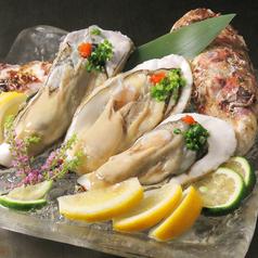 殻付き牡蠣(3個・6個)