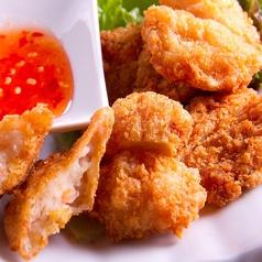 料理メニュー写真トーマンクン (海老のすり身揚げ)