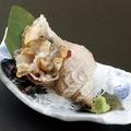 料理メニュー写真活真ツブ貝[刺身・いそ焼]