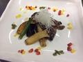 料理メニュー写真国産・黒毛牛の友三角肉ステーキ