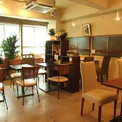 TVなどで紹介されたカフェですが、気取らない雰囲気でお客様をお待ちしております。
