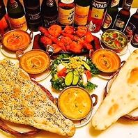 本場インドの料理を好きな組み合わせで!リーズナブルに