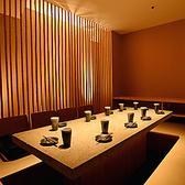 全席個室♪皆様扉付き完全個室へ案内★少人数~ご利用可能な少人数様向けのお席をはじめ、団体様向けの広々としたお席まで幅広くご案内可能です!足を伸ばして座れる優美なデザイナーズ空間でゆったりとお寛ぎ下さいませ。
