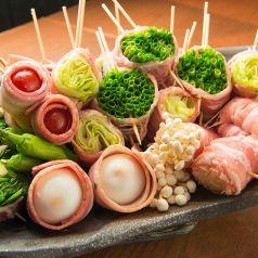 野菜巻串屋 ぐるり 泡瀬店のおすすめポイント1