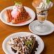 デザートの種類も豊富!