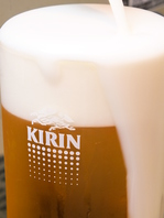 美味しいビールにもこだわり!